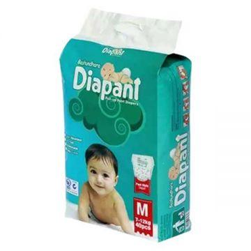 Bashundhara Baby Diaper - M - Size (40Pcs)