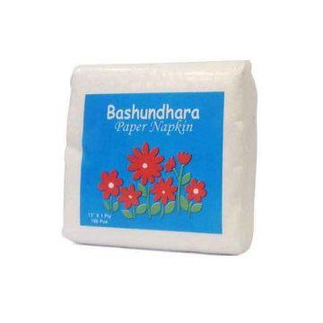 Bashundhara Napkin Restaurant Box Tissue - 120 pcs
