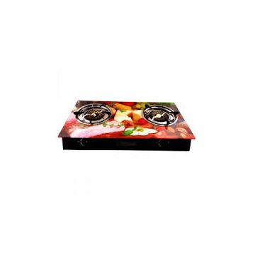 Gas Cooker Double Burner Glass Top (3D) - OGC915