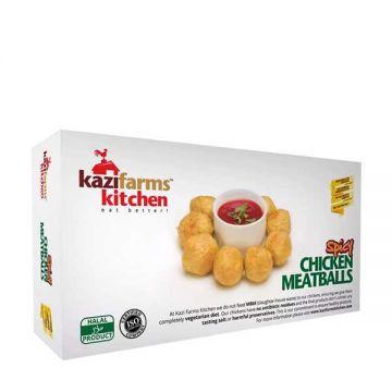 Kazi Farms Kitchen Chicken Spicy Meat Ball-250gm - 15 - 9FROZEN