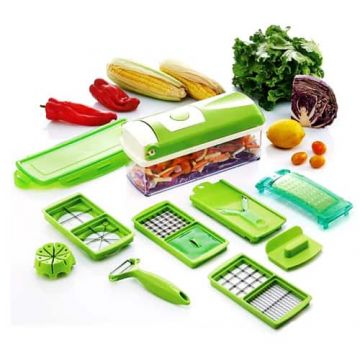 Genius Nicer Dicer Plus Food Slicer – Green