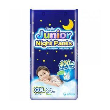 Mamy Poko Junior Girl Night Pants (24pcs) - XXXL - (18-35kg)