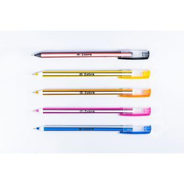 Zebra Black 50 pcs Ball Pen - Tetra Pack
