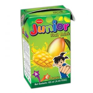 PRAN Junior Fruit Drink (Green Junior) 125ml 3000000007