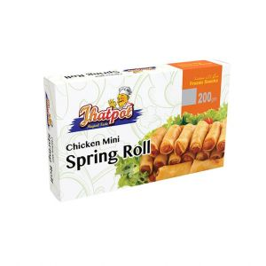 Jhatpot Chicken Mini Spring Roll 200gm
