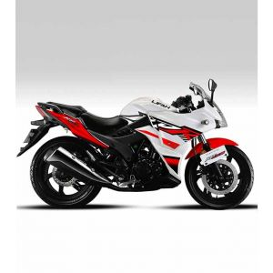 Lifan KPR 150 Motorcycle White & Red