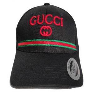 Black Gucci Baseball Cap G G Signiture Red Green For Men
