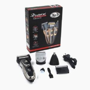 GM-595 High performance Professional 3 in 1 Trimmer  - Golden