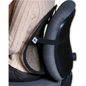 Seat Back Support for Office Chair  - Black