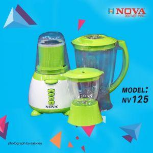 NOVA BLENDER & JUICER - NV-125 (3 IN 1)
