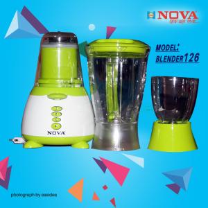 NOVA BLENDER & JUICER - NV-126 (3 IN 1)