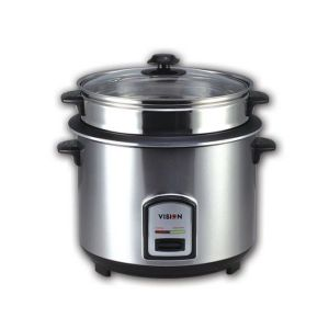 Vision Rice cooker VSNRC50- 05(Silver)3L SS Two Pot