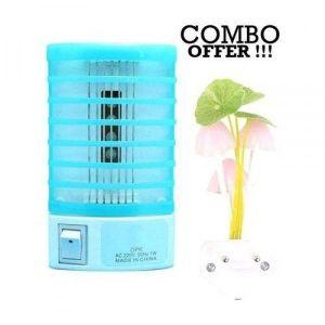 Combo of Anti-Mosquito Lamp and Avatar Romantic Lamp - Paste