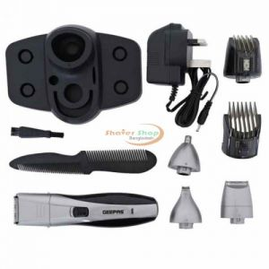 Geepas 7 in 1 Rechargeable Grooming Kit Shaver , Trimmer , Nose Trimmer , Hair Clipper GTR8653
