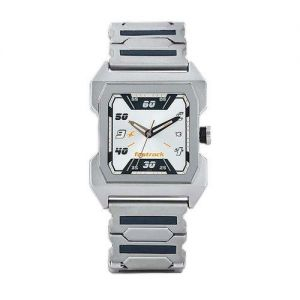 NJ1474SM01 Stainless Steel Analog Watch for Men - Silver