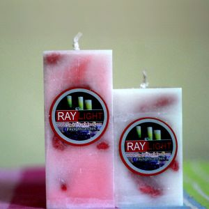 Square Pillar Candle set Twin