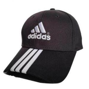 ADIDAS 6 PANEL 3 STRIPE COTTON CAP