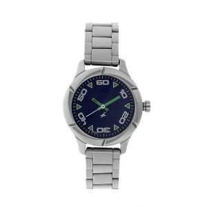 3021SM01 Stainless Steel Analog Watch for Men - Silver