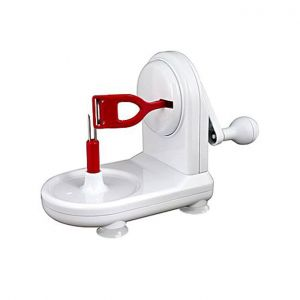 Quick and Easy Apple Peeler - White and Red