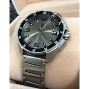 3084SM02 - Silver Stainless Steel Analog Watch for Men-FTB0084