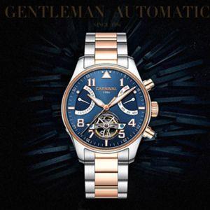 Carnival Tourbillon Automatic Watch Men-8783G