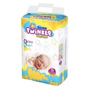 Twinkle Baby Diaper - Small - 44 pcs