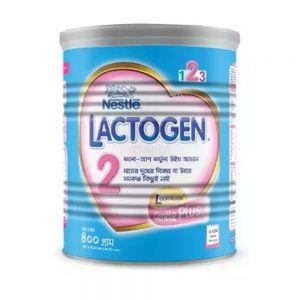 Nestlé LACTOGEN 2 Follow up Formula (6 months+) TIN - 400 gm