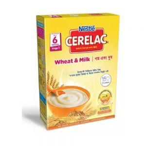 Nestlé Cerelac BIB- Wheat and Milk - 400 gm