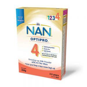 Nestlé NAN 4 OPTIPRO Follow Up Formula (2-5years) BIB - 350 gm