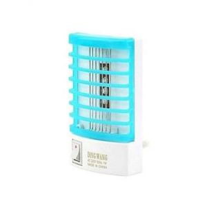 Electric Mosquito Killer Night Lamp - White and Sky Blue