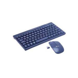 2.4 GHz Mini Slim Wireless Keyboard & Mouse Combo - Black