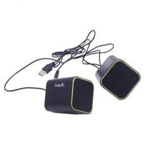 Mini USB Portable Speaker - Black