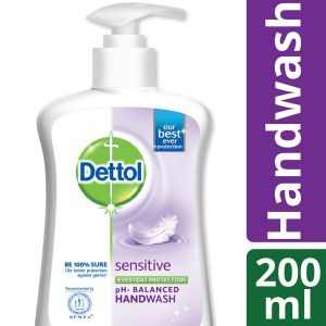 Dettol Handwash 200 ml Pump Sensitive