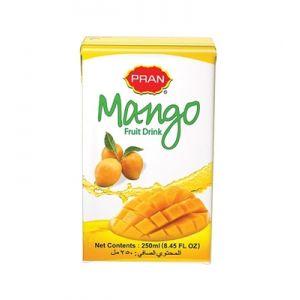 PRAN Mango Juice Tetra 250ml 3000000005