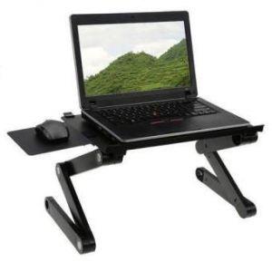 Aluminum Laptop Table T9 - Black