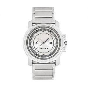 NG3039SM03C - Stainless Steel Analog Watch For Men - Silver-FTB0071