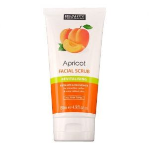Beauty formulas apricot f/scrub 150 ml [tube]