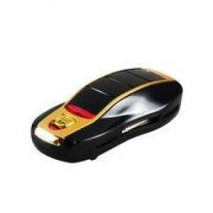 Car Shaped High Speed Multi-functional Card Reader - Black
