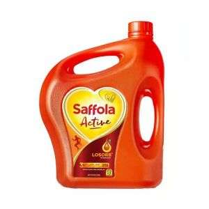 Saffola Active Soybean Refined Oil - 5 Ltr