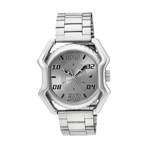 3110SM03 Stainless Steel Analog Watch For Men - Silver-FTB0068