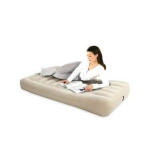 Twin Inflatable Air Bed  Mattress - Grey