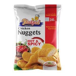 PRAN Jhatpot Chicken Nuggets Hot & Spicy 240gm 5500001288