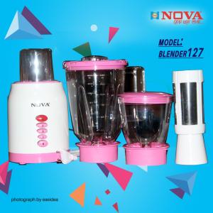 NOVA BLENDER & JUICER - NV-127 (4 IN 1)