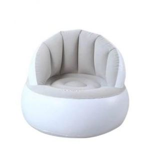 Inflatable Air Sofa Arm Chair -  White & Grey