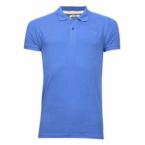 cotton-casual-short-sleeve-polo-blue
