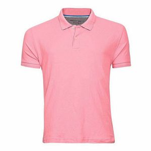 cotton-casual-short-sleeve-polo-pink