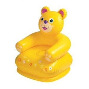 Inflatable Animal Chair for Kids  - Yellow