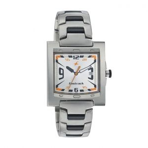 NJ1229SM04 - Stainless Steel Analog Watch for Men - Silver