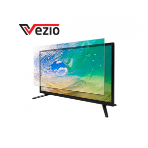 Vezio 32 Inch Double Glass HD Ready LED TV -Black