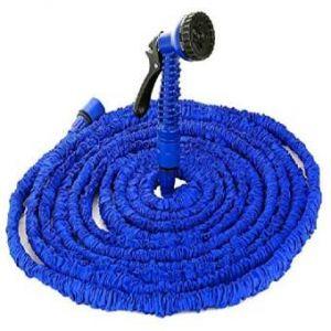 Magic Car Washing & Gardening  Hose Pipe(150ft)-blue